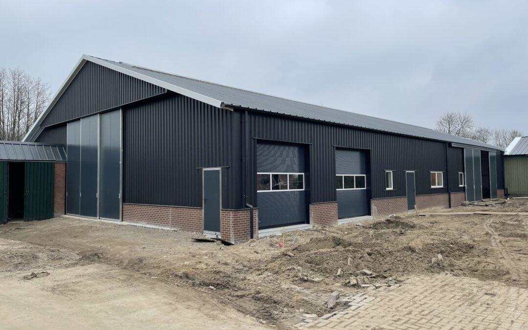 Nieuwbouw Stal/Loods te Amerongen
